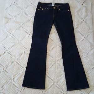 TRUE RELIGION Joey jeans gold sequin pockets